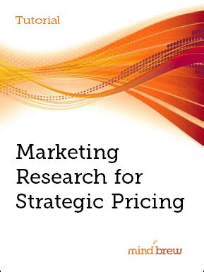 A marketing research proposal contains